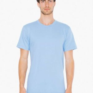 American Apparel | Fine Jersey Crew T-Shirt Thumbnail